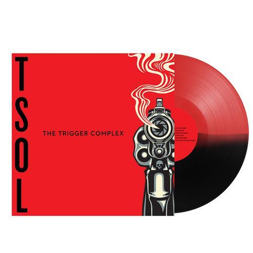 The Trigger Complex Half Red/Half Black