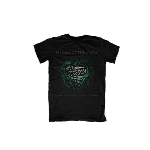 Vines Black T-Shirt