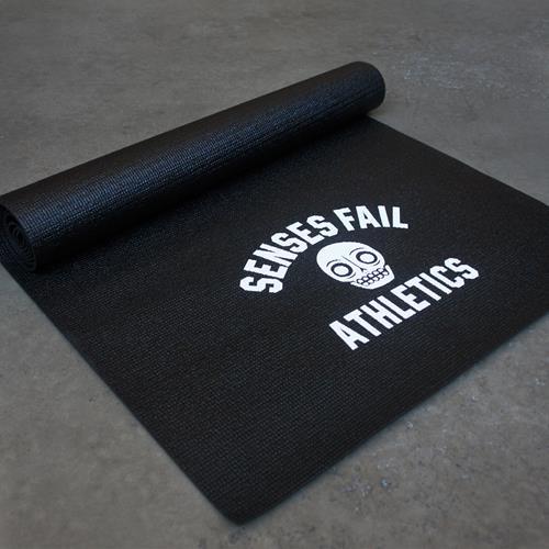 Athletics Black Yoga Mat