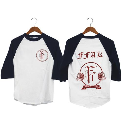 Roses Navy/White Baseball Tee