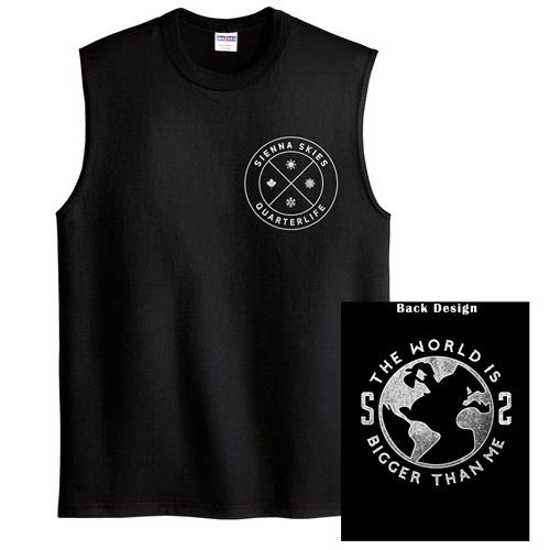 The World Is Bigger Than Me Sleeveless Black
