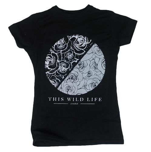 Roses Circle Black Girl Shirt