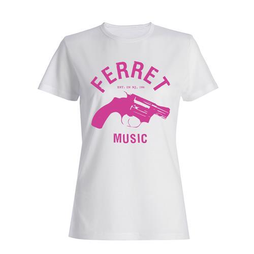 Ferret Music Pink Gun White