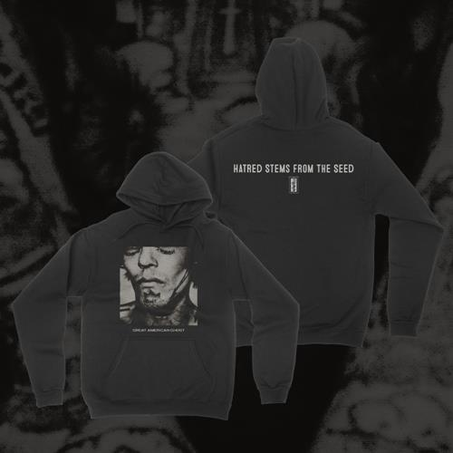 Hatred Stems From The Seed Black Pullover