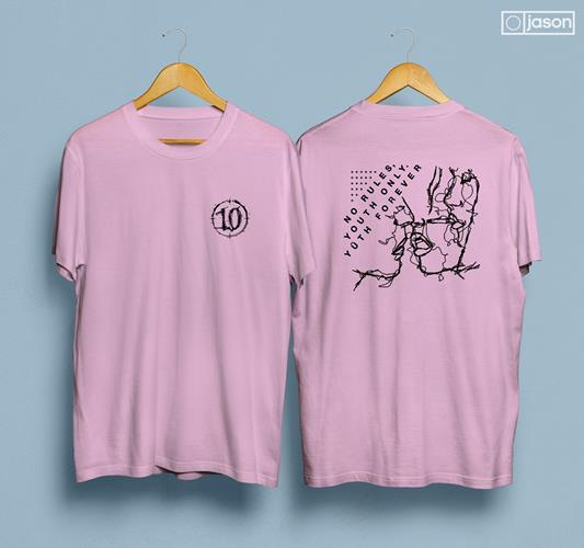 10 No Rules Pink