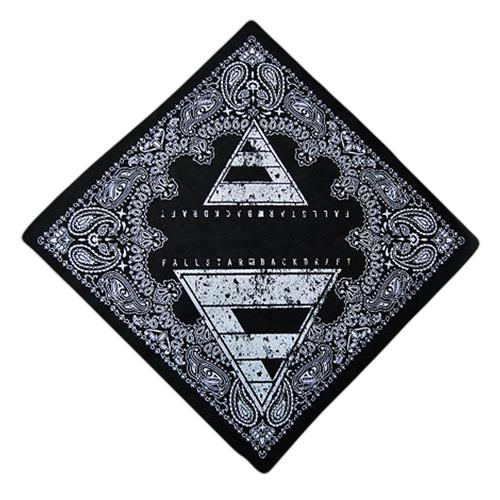 Backdraft Black Bandana *Final Print*