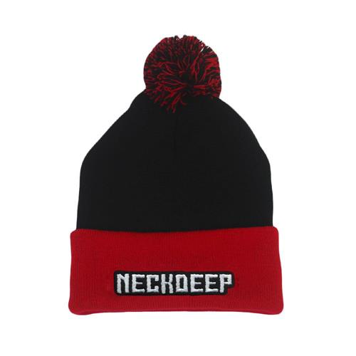 Logo Red/Black Pom
