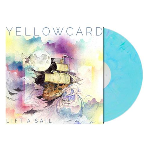 Lift A Sail Blue w/Multi Color Splatter LP