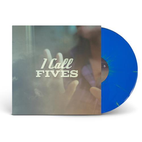 Cyan Blue W/ Easter Yellow Splatter LP