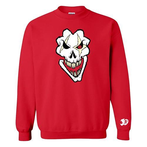 Death Pop Skull Red