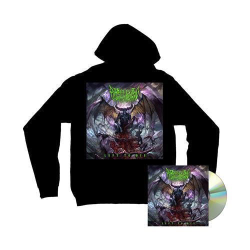 Left To Die CD + Album Hoodie