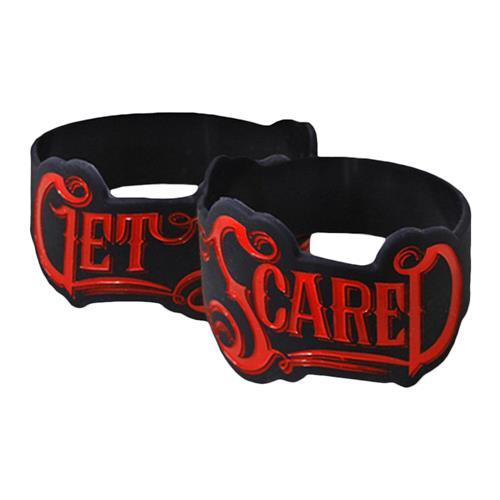 Logo Die-Cut Black Wristband