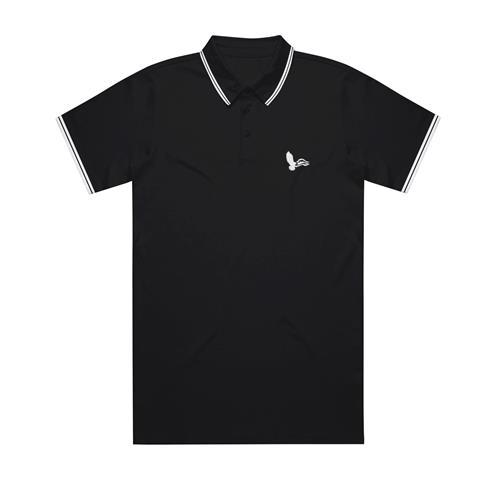 Eagle Black Embroidered