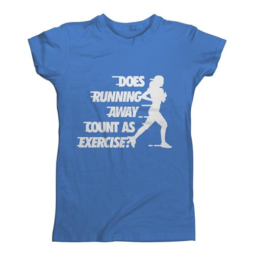 DOES RUNNING AWAY COUNT AS EXERCISE?