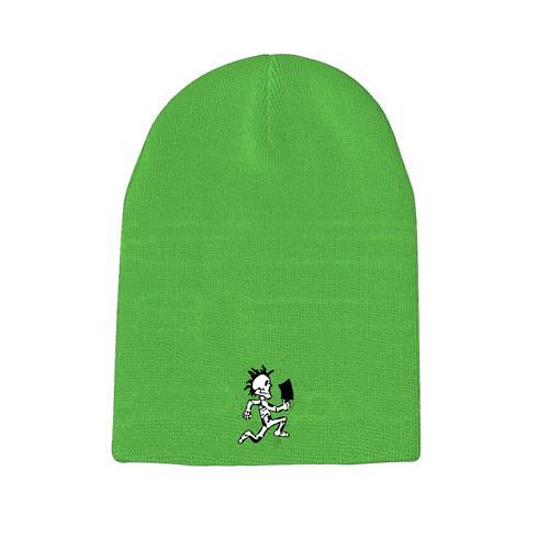 Skeleton Hatchetman Neon Green Winter