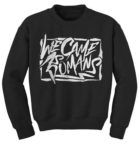 Graffiti Black Crewneck