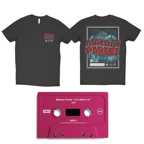It Is What It Is Red Cassette/Tee/Digital