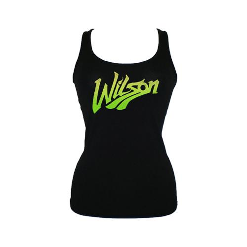 Wilson Black Girl's Tank Top