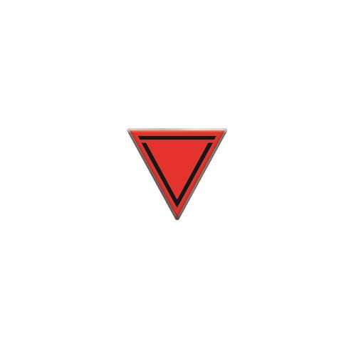 Red Logo  Enamel