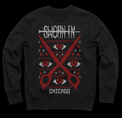 Scissors Black Sweater