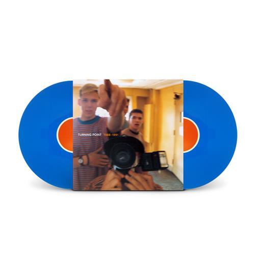 1988-1991 Discography 2 X Blue Vinyl  + 7