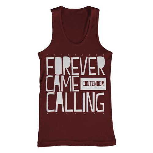 Stack Maroon Tank Top