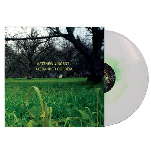 Split White w/Kelly Green Haze LP