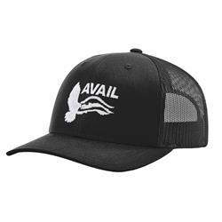 Over The James Black Trucker Hat