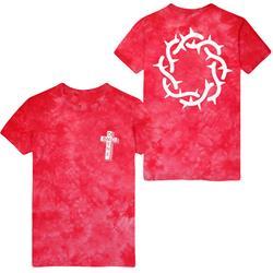 Crown Red Tie Dye
