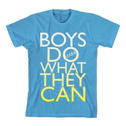 Boys Do What They Can Teal *Final Print!*