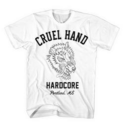 Cruel Hand Portland Hardcore White