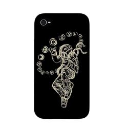 Starman Black iPhone 4 Case