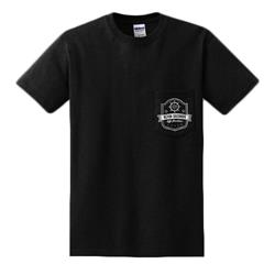 Off Stockton Black Pocket T-Shirt