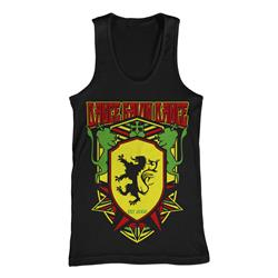 Lion Crest Black Tank Top