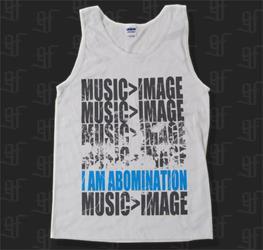 Music > Image White Tank Top