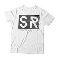 SR Logo White T-Shirt