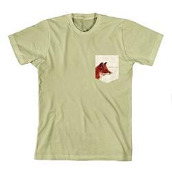 Emarosa - Fox Pocket Print Khaki Pocket T-Shirt