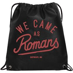 Detroit Black Cinch Bag