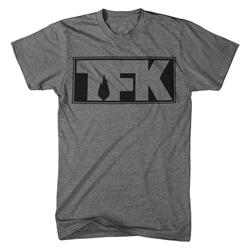 TFK Outline Logo Dark Heather