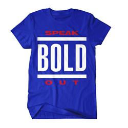 Speak Out Royal Blue