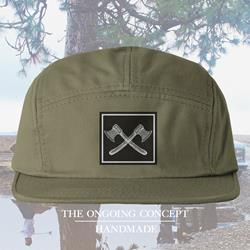 Axes Army Green 5-Panel Hat