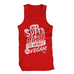 Superhero Red Tank Top