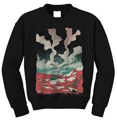 The Lake Black Crewneck