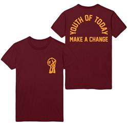 Make A Change Maroon