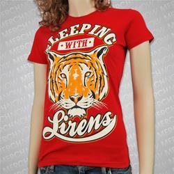 New Tiger Red Juniors/Girls Ts