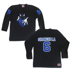 Shangri La 6 Black Hockey Jersey