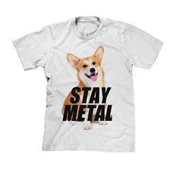 Stay Metal Puppy White