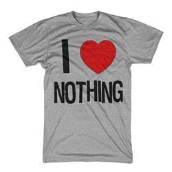 I Heart Nothing Heather Gray