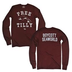 Free Tilly Maroon Thermal