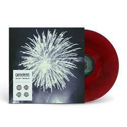 Quiet World Red & Black Marble Vinyl LP